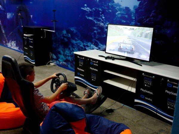 Аэрохоккей и видеоигры
