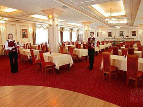 Ресторан «Атлас». Большой зал