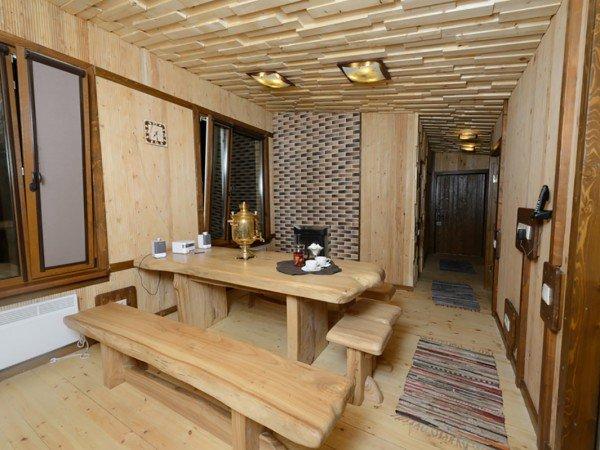 Русские бани на дровах