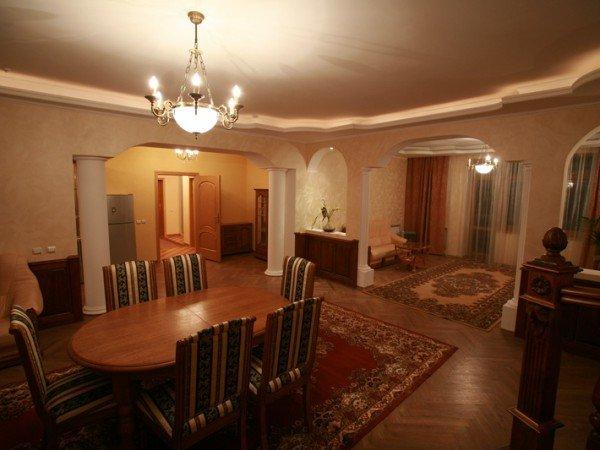 Двухуровневые апартаменты с сауной