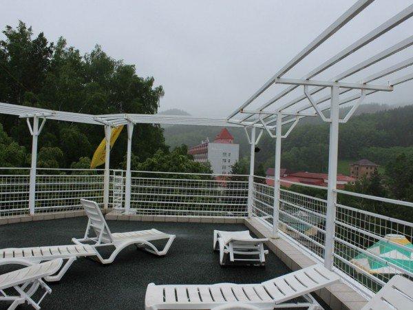 Площадка на крыше