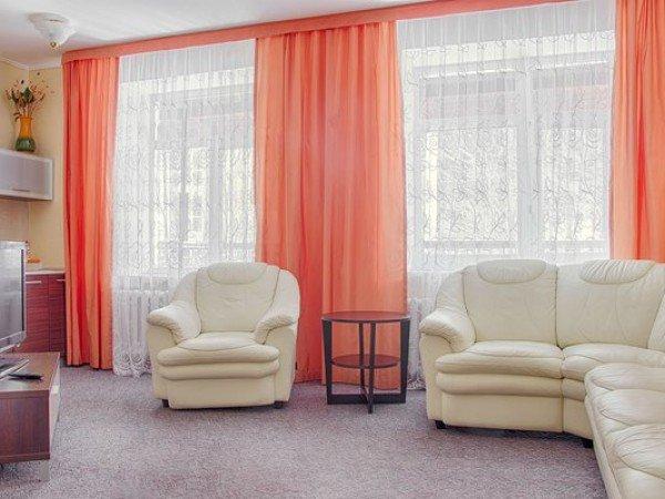 Люкс 2-местный 2-комнатный (корпус Эдельвейс)