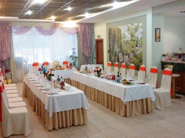 Зал «Кофейный дворик» 60м2