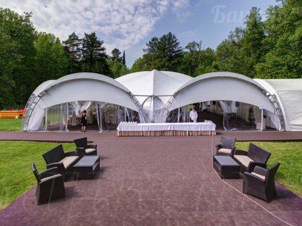Площадка «Дворцовая» с шатром