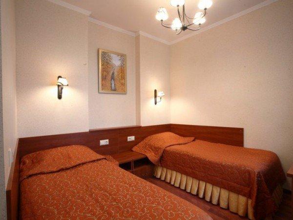Евростандарт с двумя раздельными кроватями