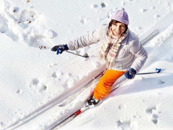 Лыжня и тюбинг