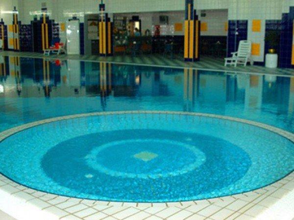 Детская зона в бассейне