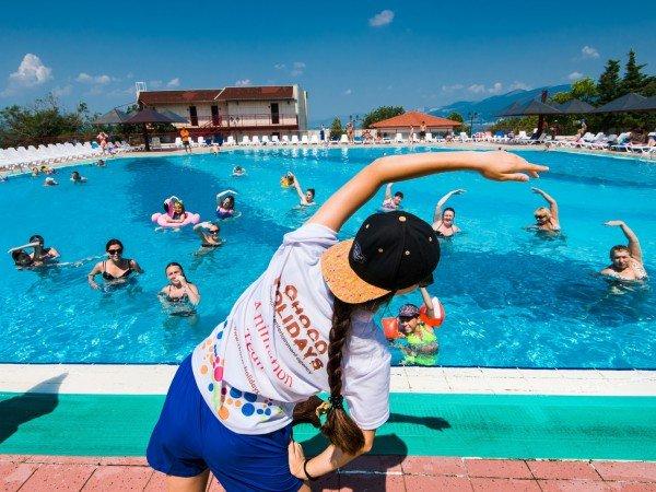 Водная гимнастика и аэробика