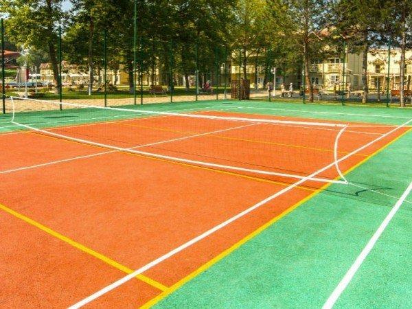 Спортивно-игровые площадки