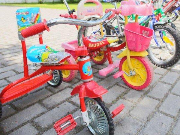 Прокат велосипедов и машинок