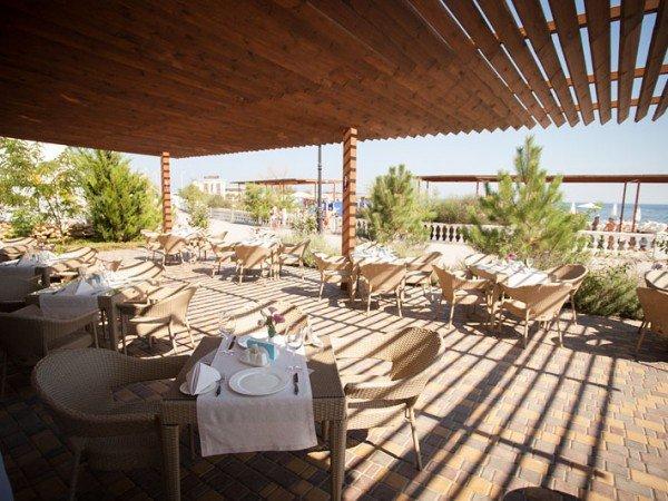 Ресторан на берегу моря «Grill Club Мадера»