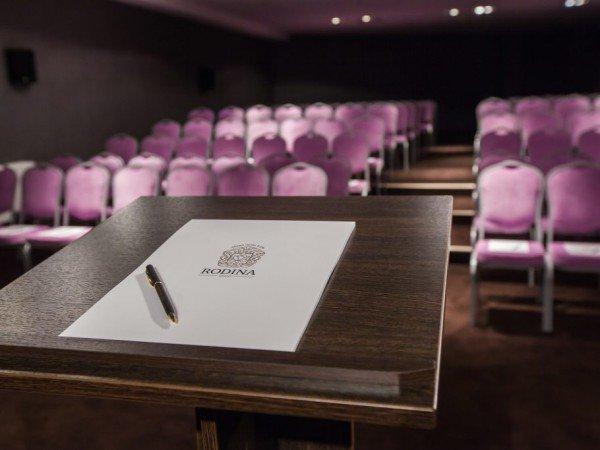 Организация мероприятий в отеле «RODINA Grand Hotel & SPA»