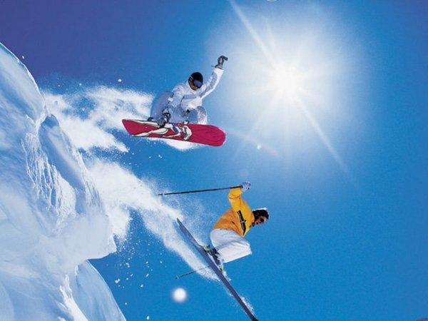 Горы. Лыжи. Сноуборд