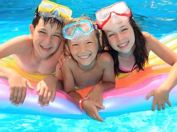 Детское отделение в бассейне