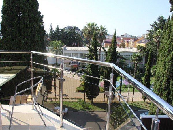 Студия 2-местная 1-комнатная с балконом