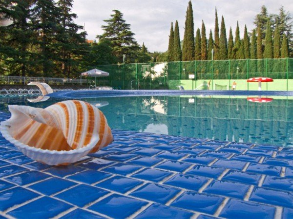 Открытый плавательный бассейн